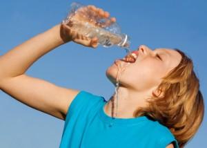 girl-drinking-bottled-water